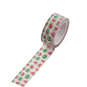 WRITIME 1PC 15mmX5m Washi Tape Watermelon Adhesive Paper Tape School Office Supplies Decorative Tape Sticker,S,P12