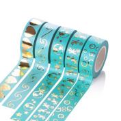 5Five DIY Tape Masking Tape Handmade Decorative Stickers - 15mm*10m