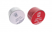Adhesive Glitter Tape 48mm x 2m Available in Gold, Red & Silver (XM0340)