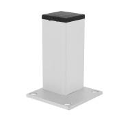 Cabinet Sofa Table Screw Fixed Adjustable Leg Stand Feet Plinth 38x38x100mm