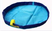 Toy Storage Bag, Portable Kids Toys Organiser Storage Drawstring Bag Play Mat ,Toys, clothing classification finishing bags