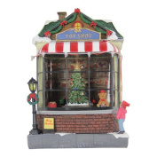 The Holiday Aisle Animated Train Toy Shop