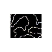 Shiny Clear Iridescent Beaded Christmas Garland 4.6m x 6.25mm