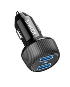 [UPGRADED] Anker PowerDrive 2 Elite, Ultra-Compact 24W Dual Port Car Charger with PowerIQ Technology for Apple, Samsung, and other iOS or Android Mobile Phones and Tablets