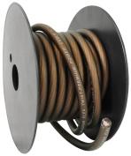 Rockville R8G20B 6.1m 8 Gauge Black Car Amp Power/Ground Cable Instal Wire