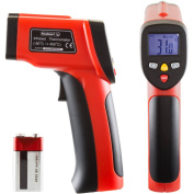 Stalwart Non-Contact Digital Laser Infrared Thermometer with LCD Screen