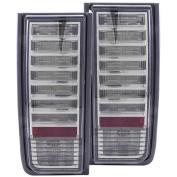 Anzo USA 03-04 Hummer H2 LED Smoke LED Tail Lights