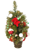 . Candy Fantasy Pre-Lit and Decorated Artificial Christmas Tree - Clear Lights