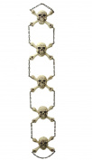 140cm Gruesome Skeleton Chain Hanging Halloween Decoration #65858