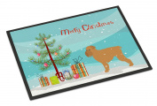 Brussels Griffon Merry Christmas Tree Indoor or Outdoor Mat 18x27 BB2958MAT