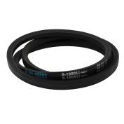 Unique Bargains B1800 17mm Wide 11mm Thickness Rubber Transmission Drive Belt V-Belt Black