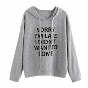 BURFLY Women Fashion Letter Jumper Sweatshirt, Ladies I'M So Freaking Cold Letter Pinted Long Sleeve O-Neck Hoodies, Autumn Winter Warm Pullover Blouse Tops