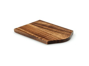 Continenta Raclette Boards, Pans Coaster, Saucer Raclette Pans, 14 x 9.5 x 0.8 cm, Hardwood, Rubber Tree Or Acacia Selectable, acacia, acacia, Quantity