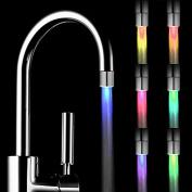 LED Shower Head,HARRYSTORE Romantic 7 Colour Change LED Light Shower Head Water Bath Home Bathroom Glow
