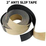 5.1cm x 6.1m BLACK Roll Safety Non Skid Tape Anti Slip Tape Sticker Grip Safe Grit
