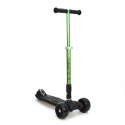 3Style Scooters® RGS-3 Tilt Kick Board Mini T-Bar 3 Wheel Big Kids Kick Scooter - Minimum Age 3+ - Recommended For Ages 7 - 12 - Boys / Girls / Big Kids - With 5.1cm Heavy Duty Wheels