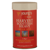 Youngs Harvest Scottish Heavy Ale homebrew beer kit