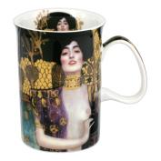 Classic mug decorated with 'Judith' by Gustav Gustav Klimt 350ml