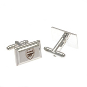 Arsenal F.C. Silver Plated Cufflinks Official Merchandise