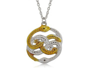 Necklace Film The Neverending Story Auryn Snakes Symbol Gift Idea