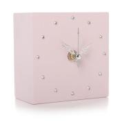 Pink Gem Blink Clock