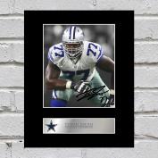 Tyron Smith Signed Mounted Photo Display Dallas Cowboys