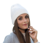 Chunky Cable Knit Beanie by Keepwin - Winter Trendy Cuff Winter Hat Ski Hat - Perfect for Women & Men