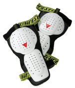 Dainese Action Guard Evo Knee Protector - Bianco/Nero, One size