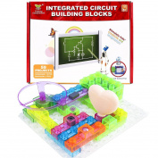 Circuits Building Blocks, KeNeer Electronics Blocks Kit Simple Snap Circuits Toys for Kids & Children Present