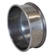 18cm x 5.1cm - 0.6cm Round End Cap, 22 ga.