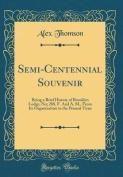 Semi-Centennial Souvenir