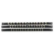 0.6cm 1cm 1.3cm Socket Clip Organiser Holder Rack Rail