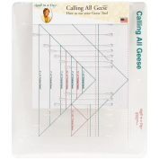 Quilt In A Day Calling All Geese Ruler Template-2.5cm x 5.1cm To 13cm x 25cm