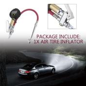 Digital Air Tyre Inflator With LCD Display Hand Held Tyre Pressure Gauge Metre