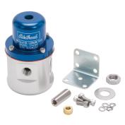 Edelbrock 174132 Fuel Pressure Regulator; Carbureted; 160 GPH 5-10 PSI; 1cm . Inlet/Outlet; 1cm . Return; Blue;