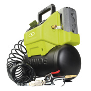 Sun Joe 40V Cordless 6.1l Hotdog Air Compressor with Inflator Access-Core Tool