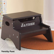 Step Stool with Storage - Espresso