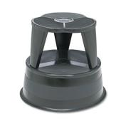 Kik-Step Steel Step Stool, 160kg cap, 41cm dia. x 14 1/4h, Black, Sold as 1 Each