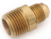 Anderson 754048-0808 Tube to Pipe Connector, 1.3cm , Flared x MPT, Brass