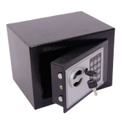 Zimtown Hot Small Black Security Steel Digital Electronic Lock Home Office Safe Box