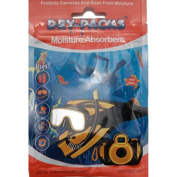 Dry-Packs Dry-Packs Scuba Moisture Absorbers, Protects Camera & Gear Against Fogging, Mould, & Mildew