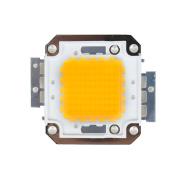 DC31-36V 51.5mmx46mm Warm White 70W LED SMD Chip Light Bead for Flood Light Lamp