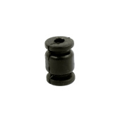 FPV Gimbal Aerial Camera 3mm Inner Dia Shock Absorption Black Damping Ball