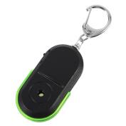 Anti-Lost Alarm Key Finder Useful Whistle LED Light Locator Finder Keychain