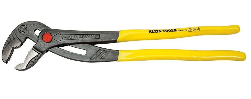 Klein Tools D504-12B Quick Adjust Klaw Pump Plier, 30cm