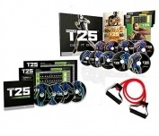 Focus T25 Alpha, Beta Gamma, & Core Speed 14 DVD Program with resistance band locally  available and fast delivery