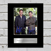 Ant and Dec Signed Mounted Photo Display I'm a Celebrity