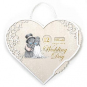 Me to You Bear Wedding Countdown Plaque by Me To You