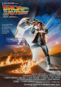 Classic 80's Back To The Future McFly Michael J Fox Movie Film A4 Poster / Print / Picture 260GSM Satin Photo Paper
