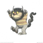 Education Print featuring Carol from Where Ther Wild Things Are 30x30cm